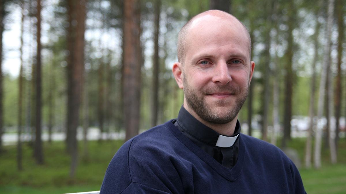 Gustav Ericsson, sjukhuspräst och meditationsledare. Foto: Helena Andersson/Moskit Media.