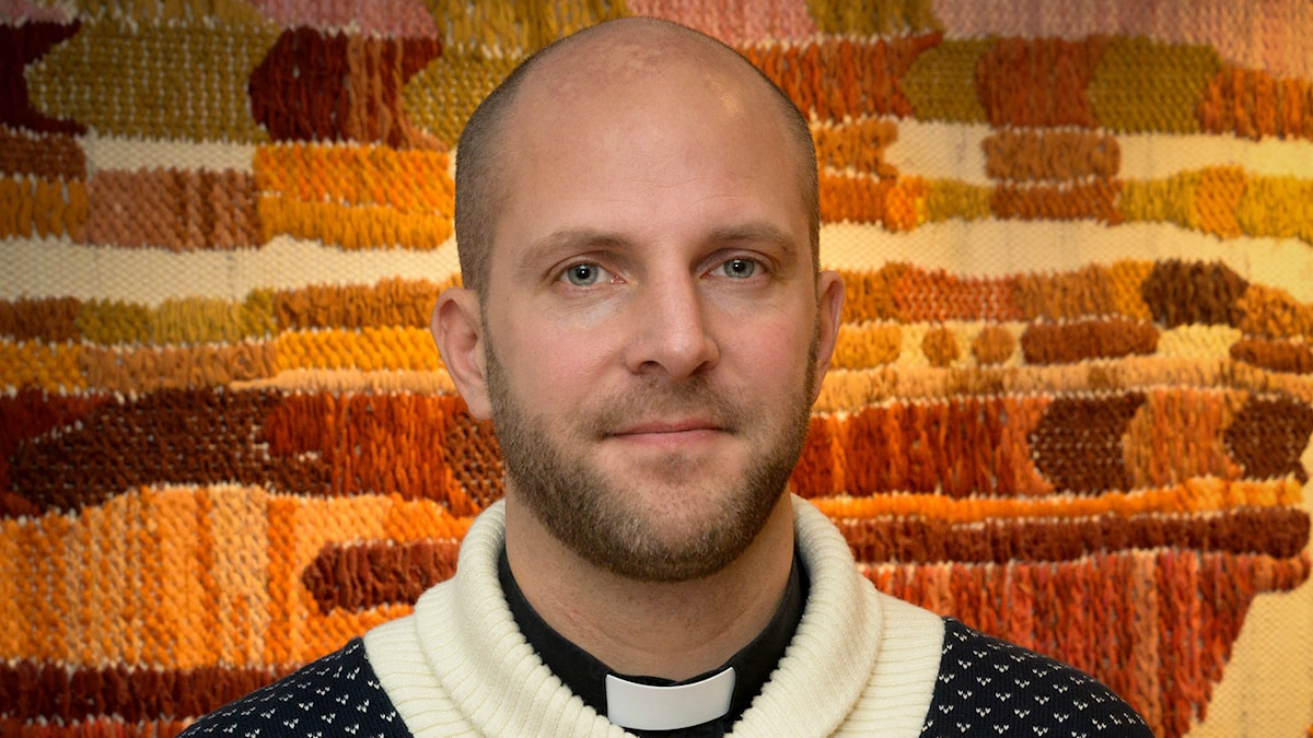Gustav Ericsson, sjukhuspräst och meditationsledare. Foto: Svenska Kyrkan Umeå.