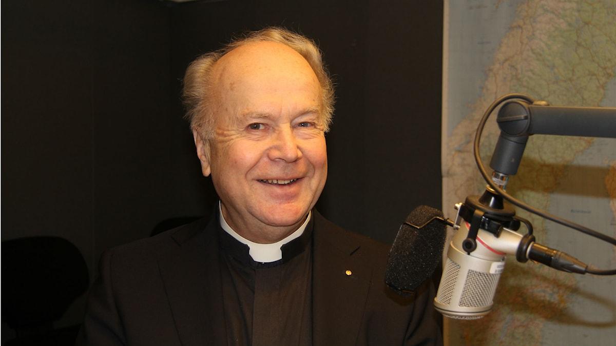 Lennart Widing. Foto: Madeleine Blidberg/Sveriges Radio.