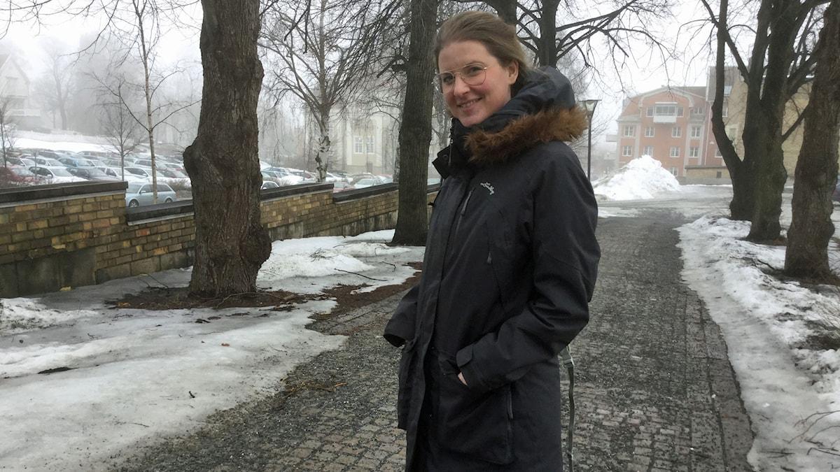 Johanna Lundström. Foto: Gunilla Nordlund/Sveriges Radio.