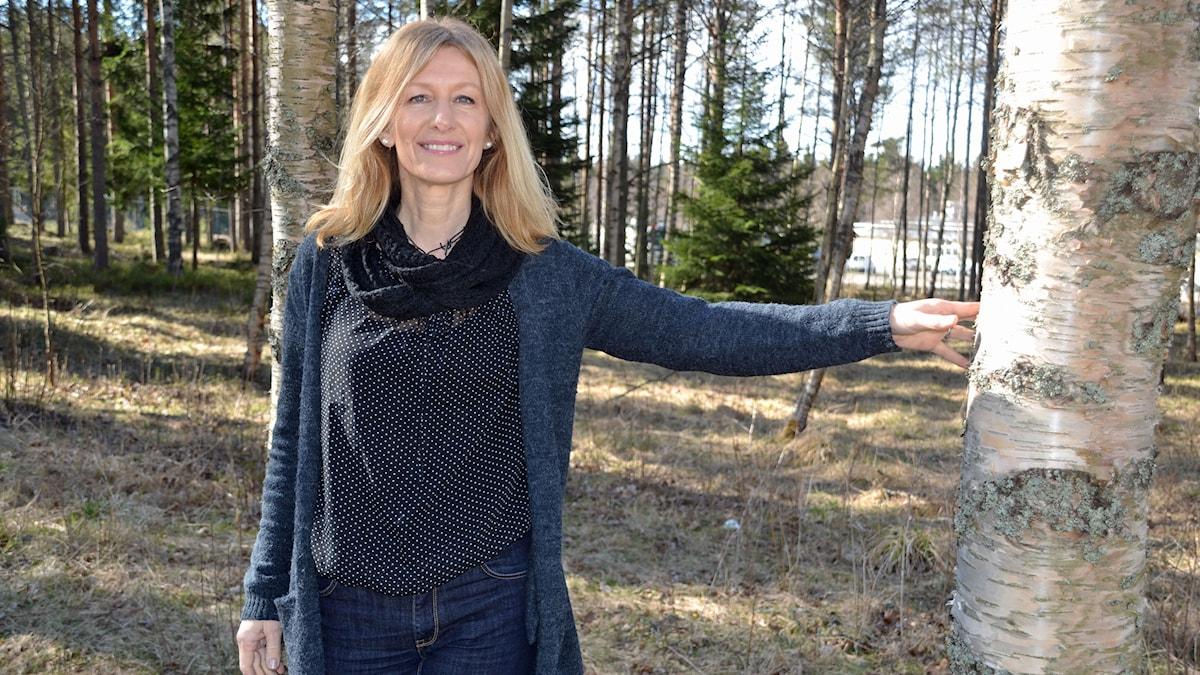 Liza L Lundkvist. Foto: Gunilla Nordlund/Sveriges Radio.