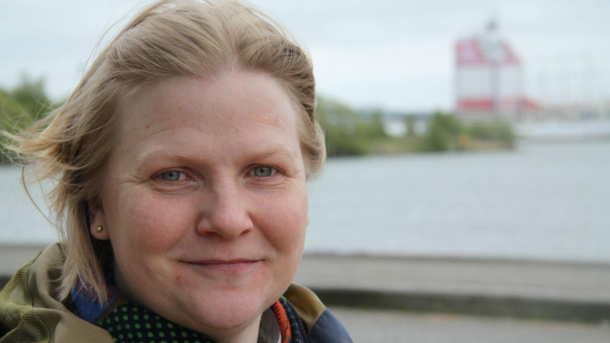 Sara Blom. Foto: Roger Blomqvist/Sveriges Radio.