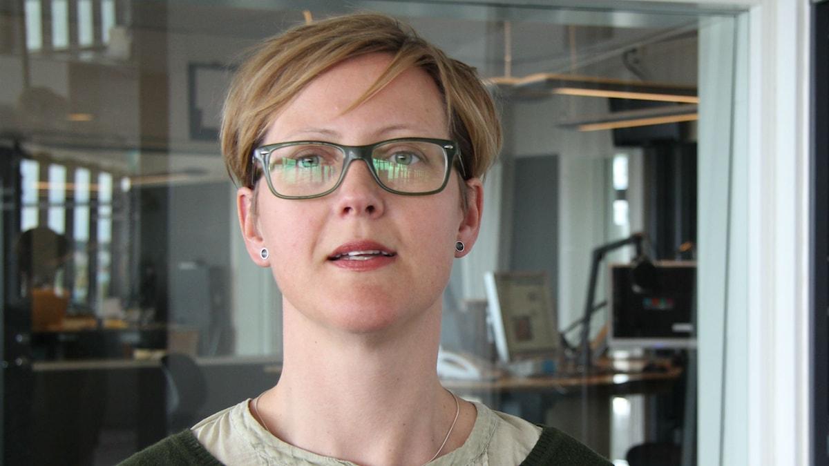 Marika Palmdahl. Foto: Emma Svensson/Sveriges Radio.