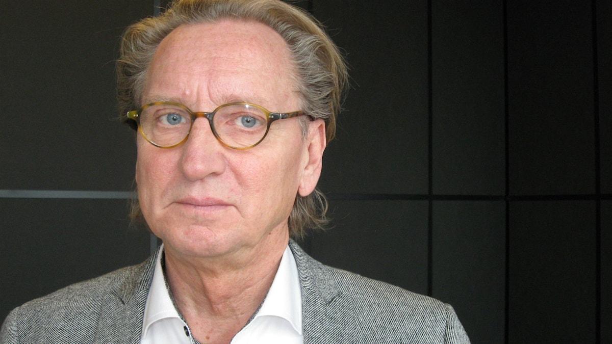 Daniel Brattgård. Foto: Roger Blomqvist/Sveriges Radio.