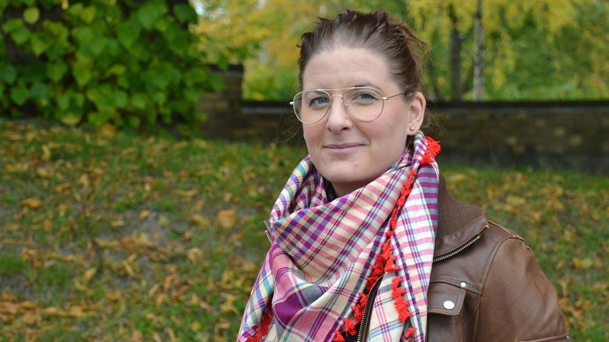 Johanna Lundström, lekmannaledare EFS Örnsköldsvik. Foto: Gunilla Nordlund/ Sveriges Radio