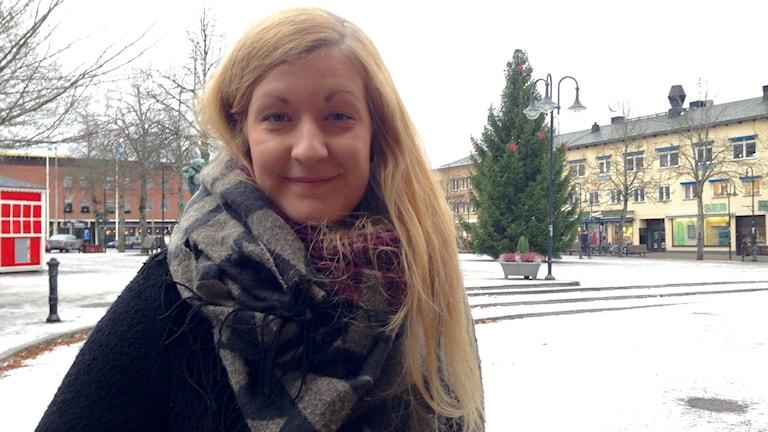 Johanna Karlsson, folkhälsoutvecklare i Karlskoga kommun.