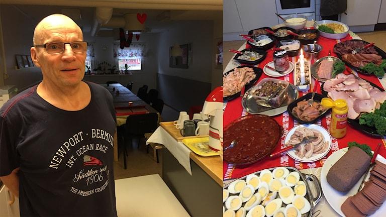 Verdandis verksamheter i Örebro och Kumla var välbesökta under julhelgen. Mats Pettersson har arbetat nästan hela helgen.