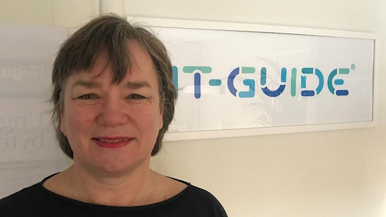 Gunilla Lundberg, grundare och verksamhetschef för IT-Guide