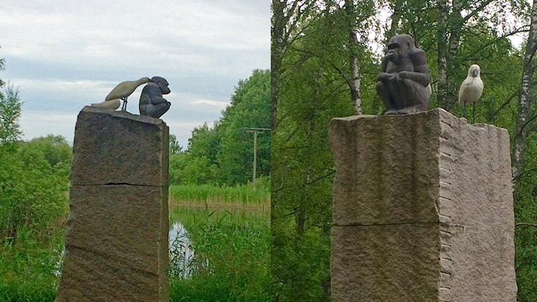 Fågeltempel av Torsten Molander.