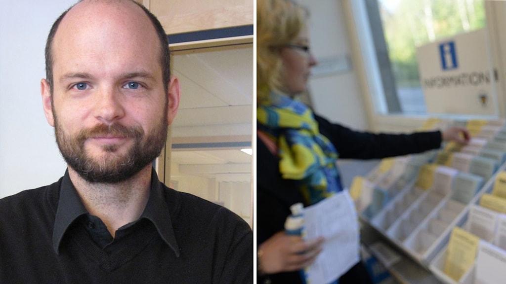 Rickard Linde, valsamordnare vid rättsenheten på Länsstyrelsen.