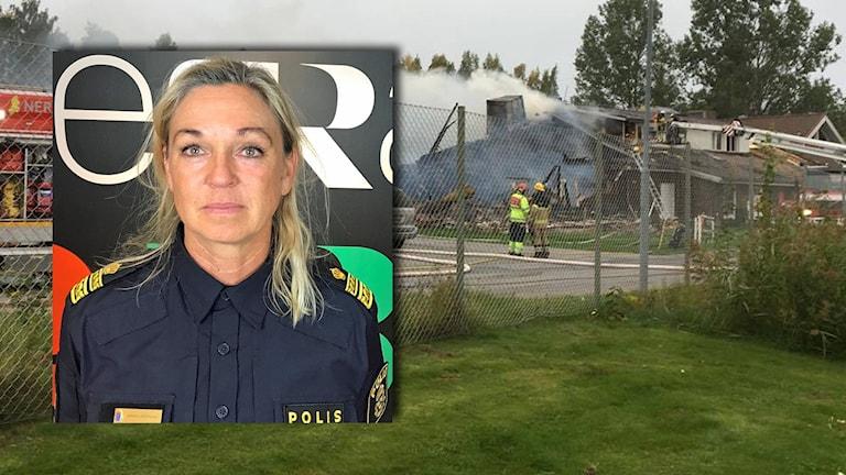 Annika Laestadius, områdeschef Örebropolisen