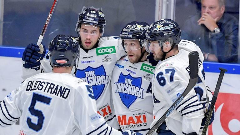 Bik Karlskoga besöker Oskarshamn i hockeyallsvenskan.