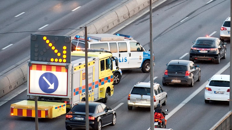Här ser du hur en TMA-bil ser ut. Bilden är en genrebild och har ingenting med dagens händelse att göra.