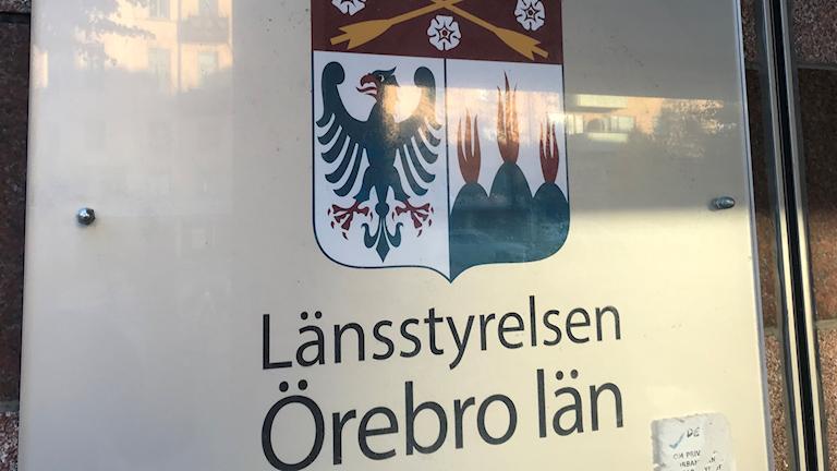 Länsstyrelsen i Örebro län.