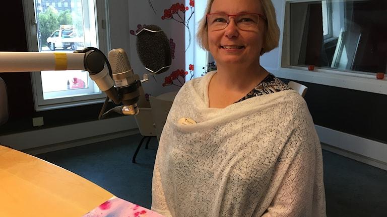 Anneli Jöesaar, genuspedagog och kvalitetsstrateg inom barn- och utbildningsförvaltningen i Askersunds kommun.