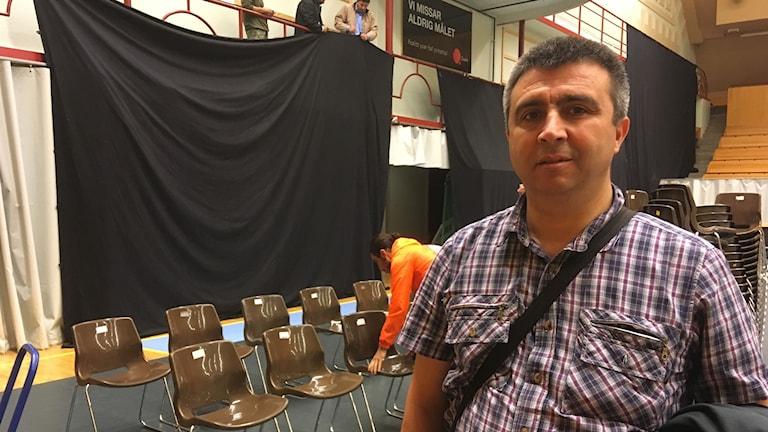 Ritvan Altun, medarrangör Kurdiska kulturfestivalen i Skandinavien.