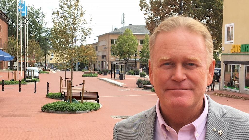 Tony Ring, Moderaterna i Karlskoga hoppas ta över makten i kommunen efter helgen val.