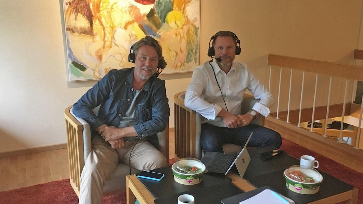 Magnus Dahlberg och Andreas Svahn.