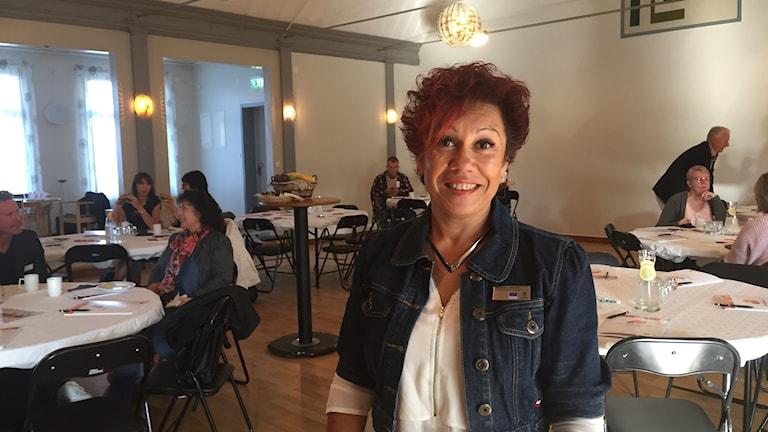 """Jeanette Ohlsson på Studieförbundet vuxenskolan är projektledare för """"Utveckling från dag ett""""."""
