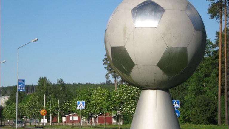 Publiken i Degerfors får vänta med att besöka Stora Valla för att se fotboll. Foto: Valdemar Andersson/SR Örebro.