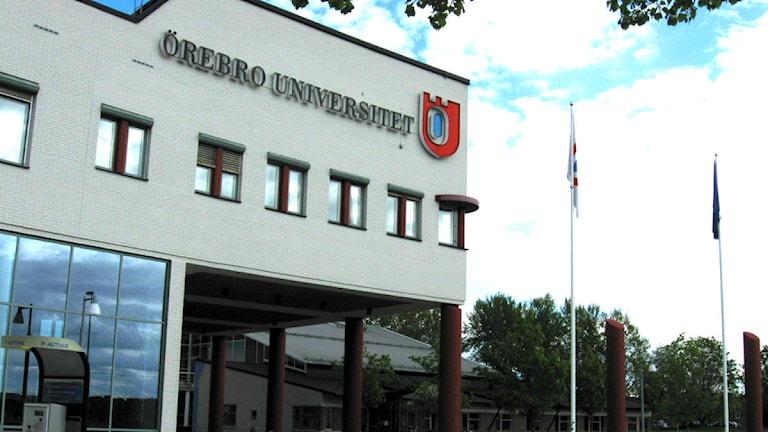 Örebro universitet Foto: Andreas Morén/SR Örebro.