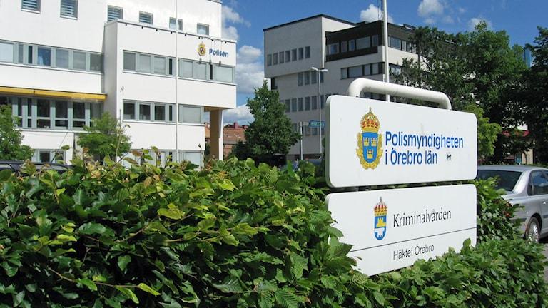 Polishuset i Örebro kommun. Foto: Veronique Slottberg/SR Örebro.