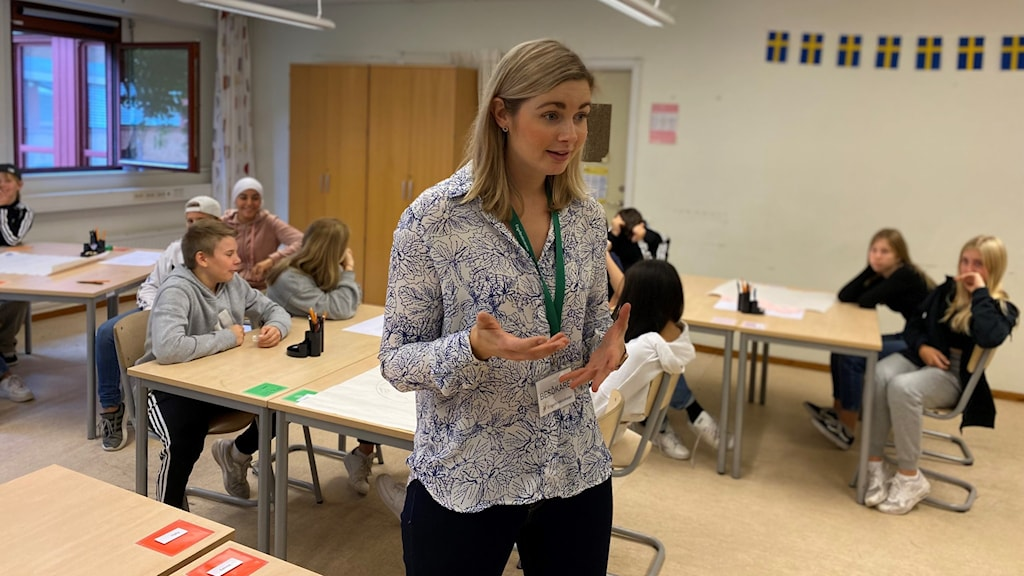Engelbrektsskolan, projekt Föreningen Norden