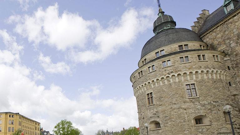 Örebro slott lockar turisterna.