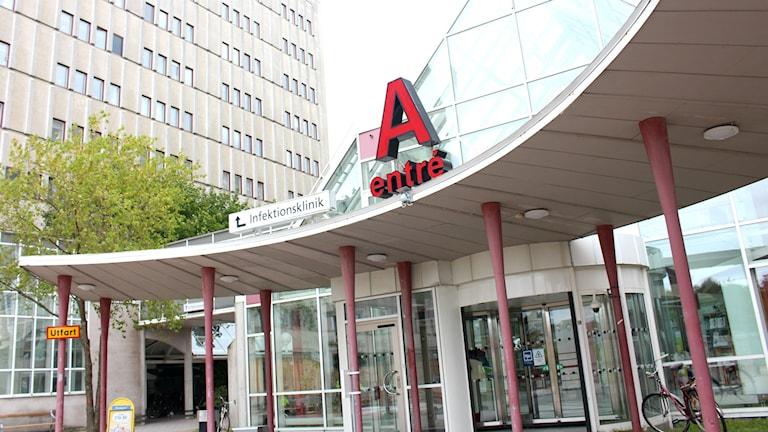 A-huset, USÖ, universitetssjukhuset i Örebro, sjukhus, ingång