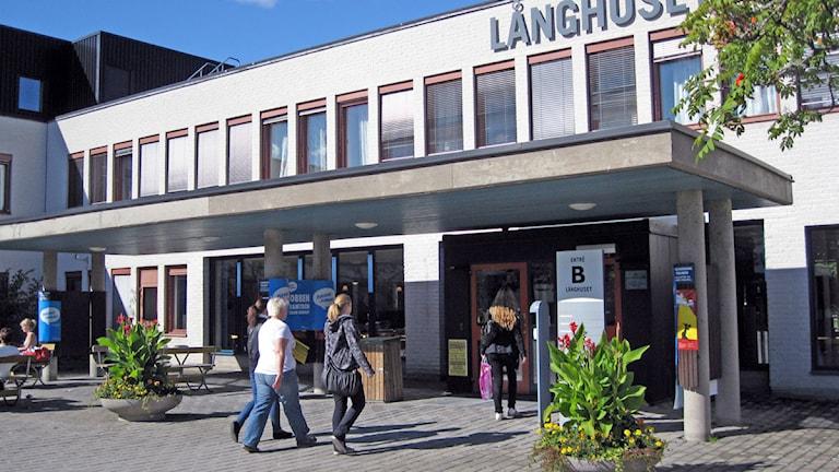 Allt fler studenter läser vid Örebro universitet vilket ökar trycket på lärarna. Foto: Gabriel Stenström/Sveriges Radio Örebro.