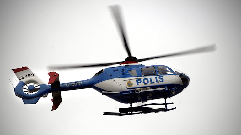 Arkivbild, polishelikopter. Foto: Hasse Holmberg/Scanpix.