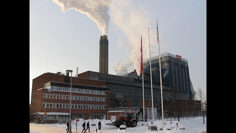 Eon: anläggning i Örebro kör för fullt. Foto: Andreas Morén / SR Örebro