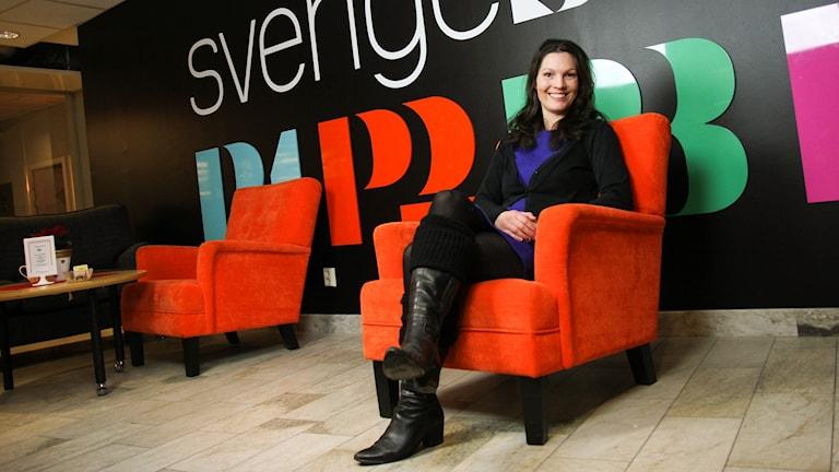 Elisabet Malmkvist (C), ordförande för gymnasienämnden i Örebro.