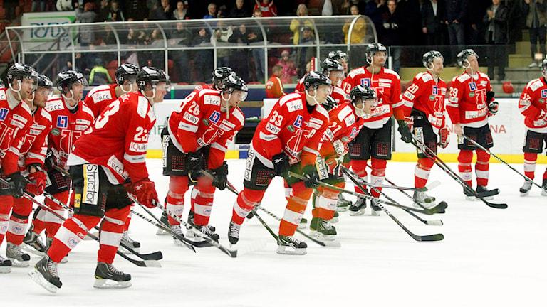 Örebro hockey. Foto:Valdemar Andersson/SR Örebro.