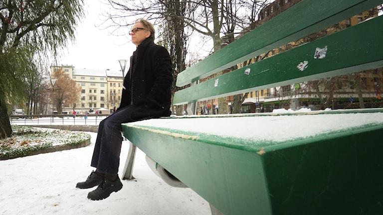 Lars Jonnson från Open art i Örebro.