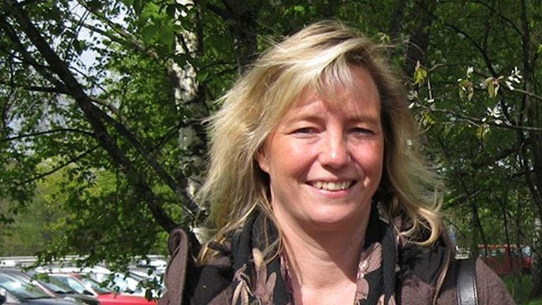 Landstingspolitikern Anna Ågerfalk (FP). Foto: Matilda Mattisson /Sveriges Radio Örebro.