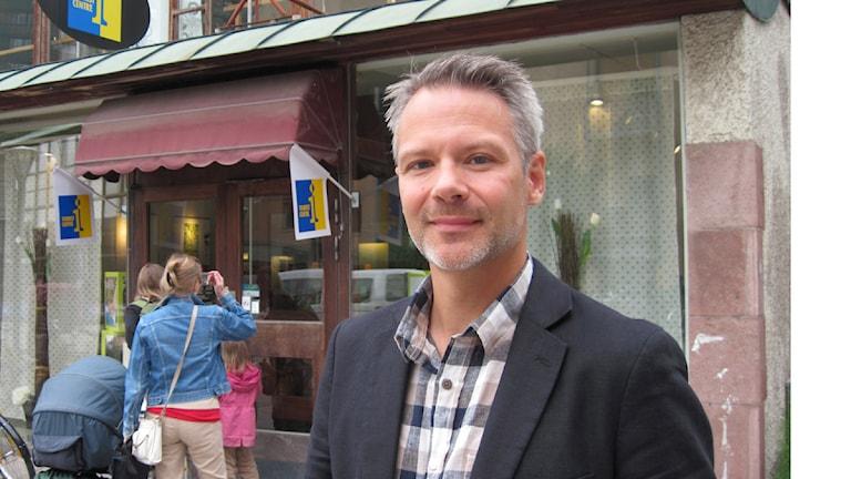 Turistchefen Björn Fransson tror på bra turistsommar. Foto: Jaber Fawaz/Sveriges Radio Örebro.