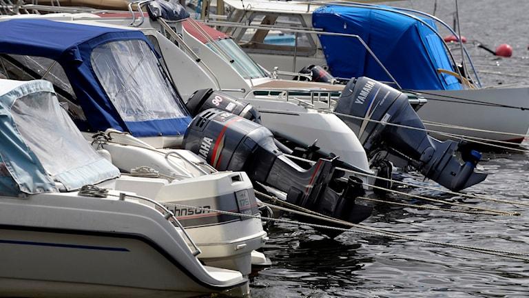 Polisen satsar på båtsamverkan Arkivbild/Sveriges Radio Örebro