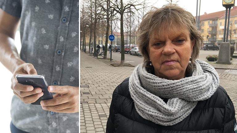 Birgitta Håkansson från Kumla