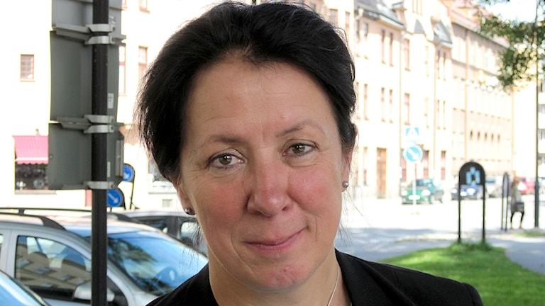 Lotta Olsson (M). Foto: Marie Hansson SR Örebro.