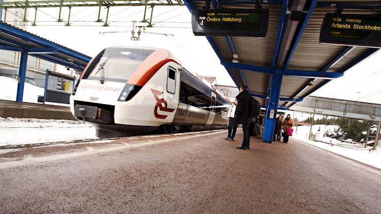 Foto: Tåg i Bergslagen