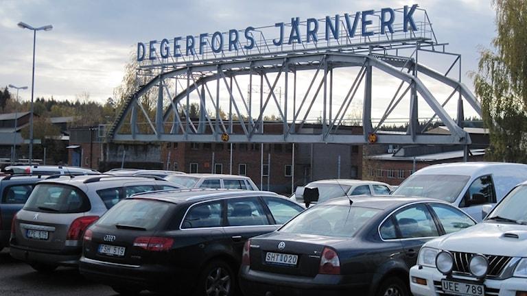 Degerfors järnverk. Arkivbild: Sveriges Radio.