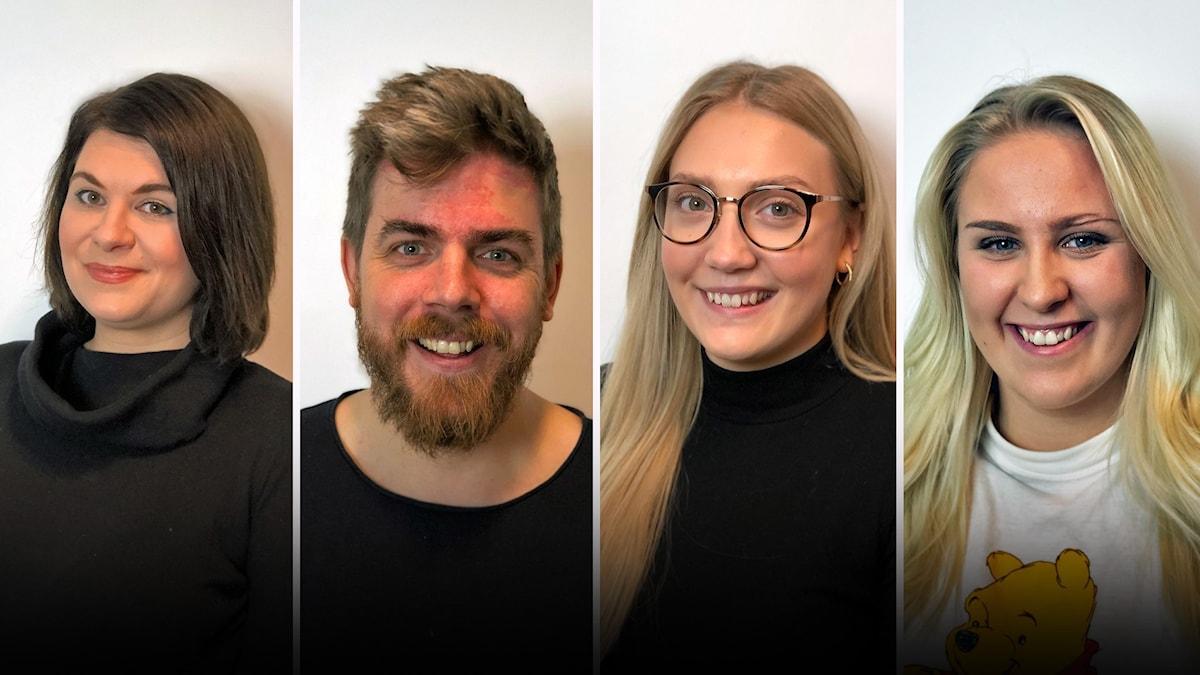 Lina Bladh, Jon E.B. Jonsson, Jessika Bäckaman och Linnéa Sandahl är årets finalister och tävlar om att bli årets lokalartist i P4 Örebro 2020.
