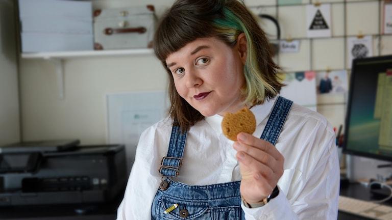 Elin Häggberg berättar om cookies