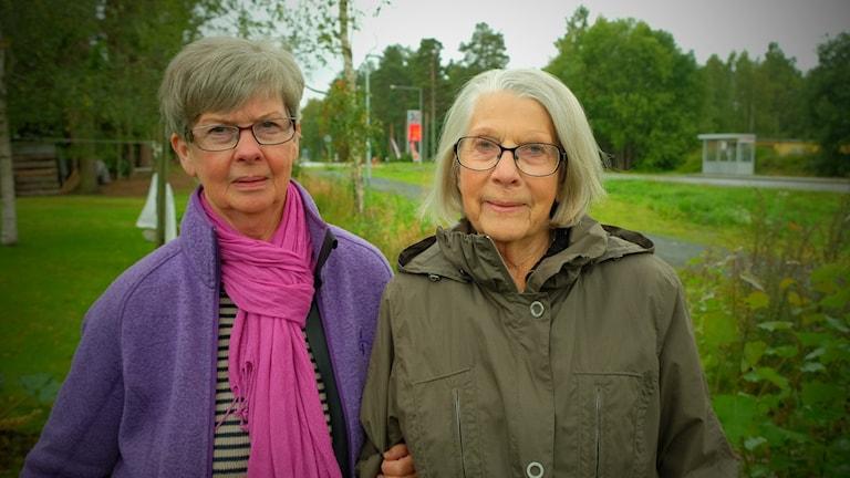 Kerstin Nyström, Karin Wouda, boende i hällefors.