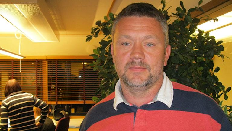 Jonas Sjöqvist, anläggningschef Gustavsvik. Foto: Anna Nyström / Sveriges Radio Örebro.