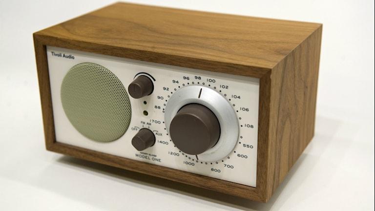 Radioapparat. Foto:Scanpix.