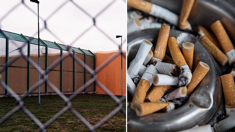 Kriminalvården vill införa ett rökförbud på anstalter och häkten.