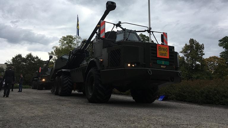 Artillerisystemet Archer i Karlskoga.