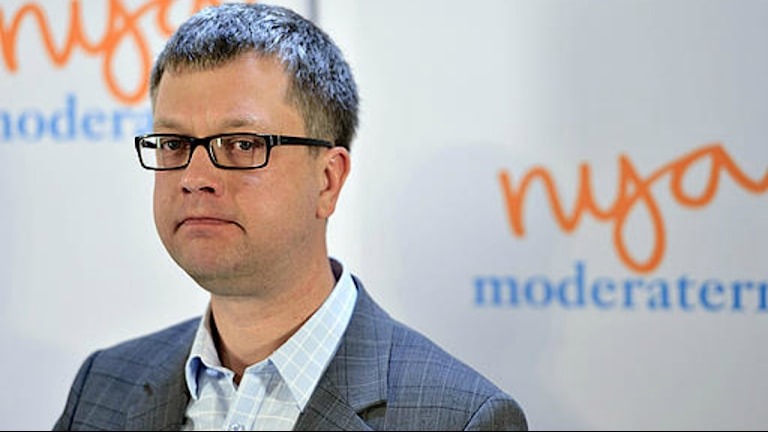 Kent Persson, moderaternas partisekreterare. Foto: Henrik Montgomery/Scanpix